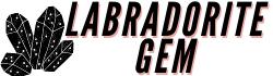 Labradorite gem logo